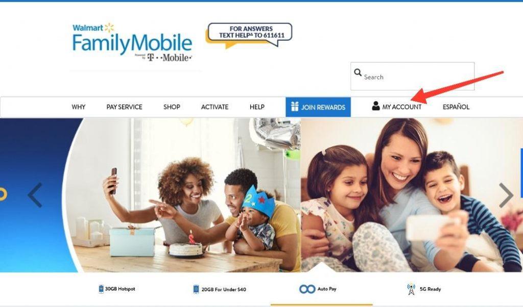 Walmart Family Mobile Paybill