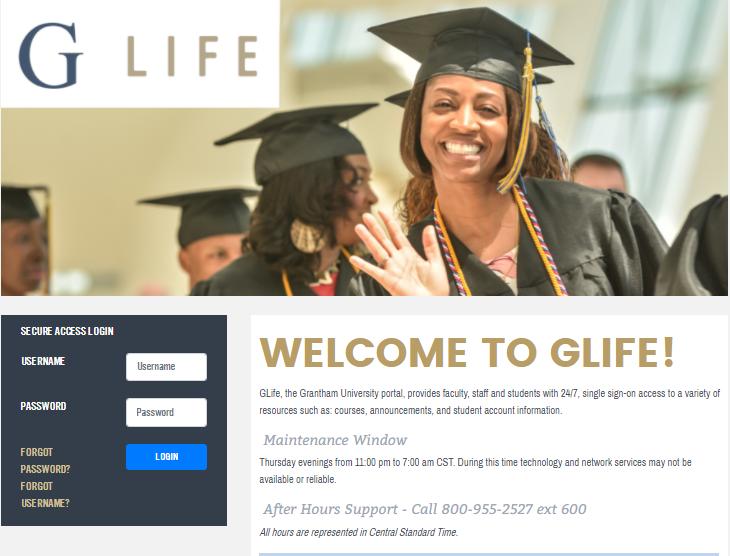 glife grantham student login