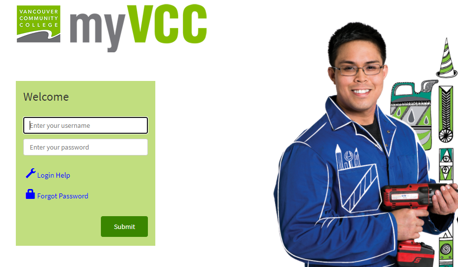 My VCC Login Portal