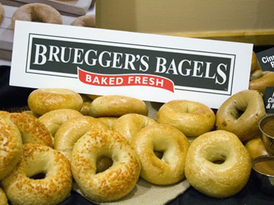 Bruegger's Bagles Menu