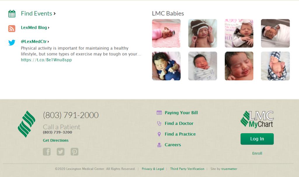 Lexington Medical Center Employee Portal