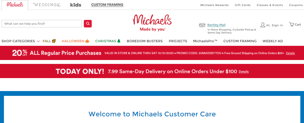 Michaels Login