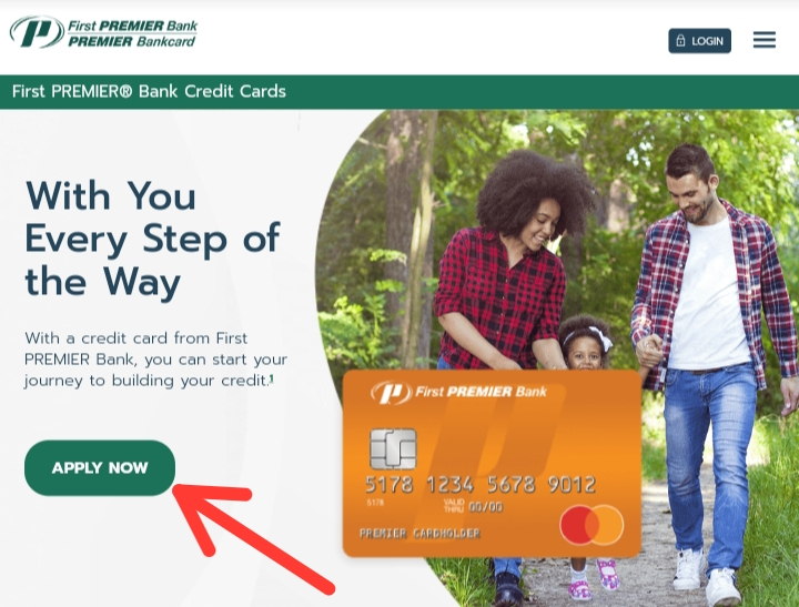 Apply for First Premier Bank Card