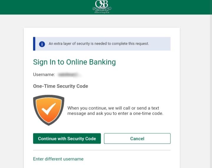 Ottawa Savings Bank Login