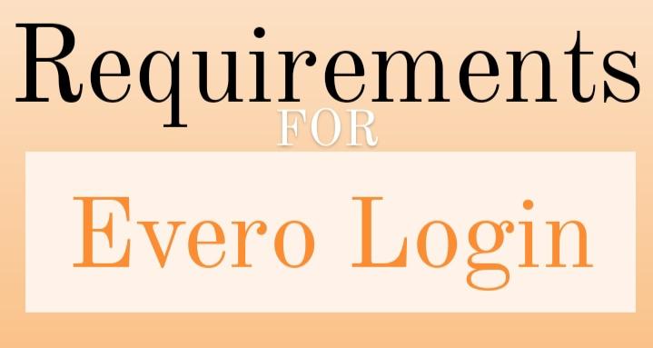 Evero Account Login