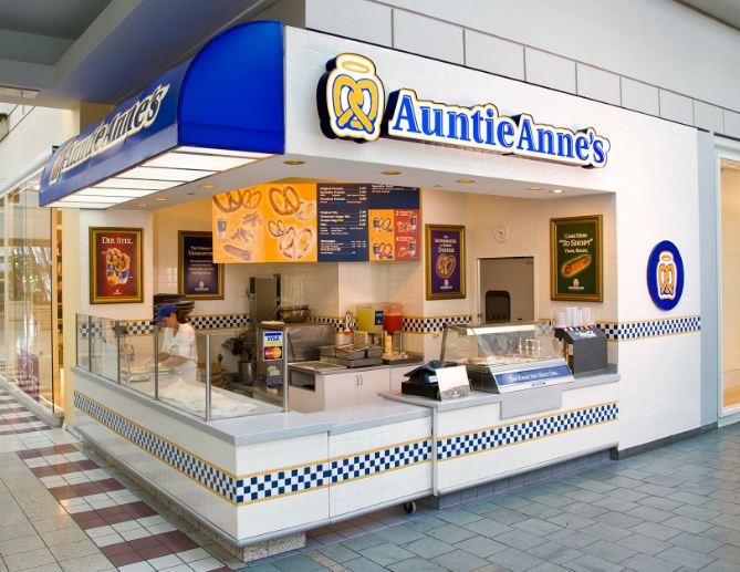 Auntie Anne's Survey